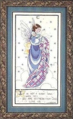 Mirabilia Moonlight Lullaby MLS6 cross stitch pattern