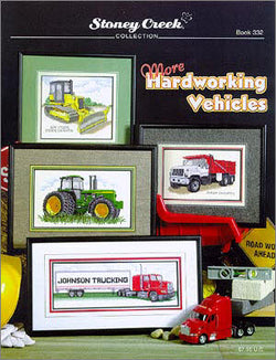 Stoney Creek More Hardworking Vehicles BK332 cross stitch pattern