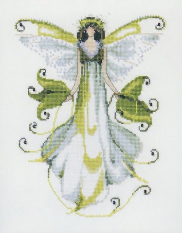 Mirabilia Morning Glory NC126 victorian pixies cross stitch