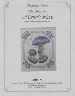 Dimples Designs Mother's Love Terrence Nolan cross stitch pattern