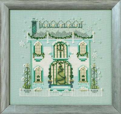 Mirabilia Mr. Darby's House NC281 victorian cross stitch
