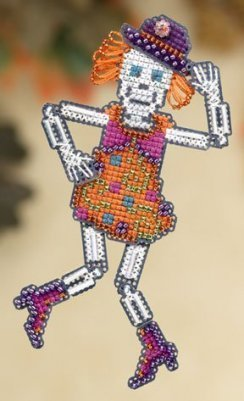 Mrs. Bones beaded kit