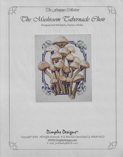 Dimples Designs The Mushroom Tabernacle Choir Terrence Nolan cross stitch pattern