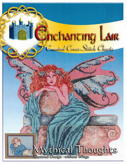 Enchanting Lair Mythical Thoughts cross stitch pattern