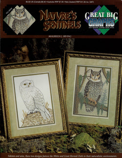 Great Big Graphics Nature's Sentinels cross stitch pattern