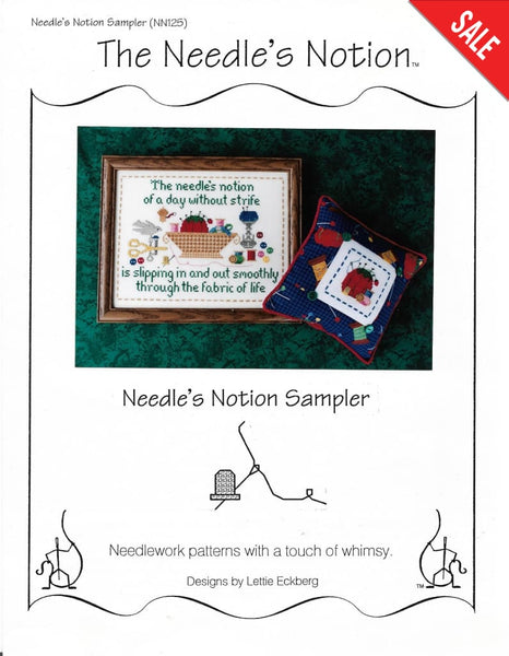 Needle's Notion Sampler pattern