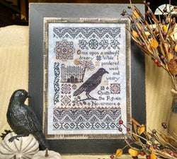Lila's Studio Nevermore 0718 cross stitch pattern