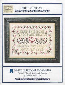 Blue Ribbon Designs Nice and Neat cross stitch pattern