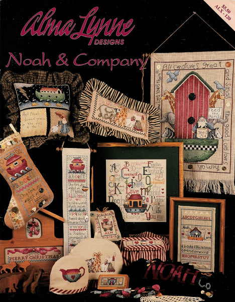 Alma Lynn Noah & Company baby child cross stitch pattern