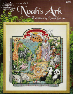 American School of Needlework Noah's Ark cross stitch pattern