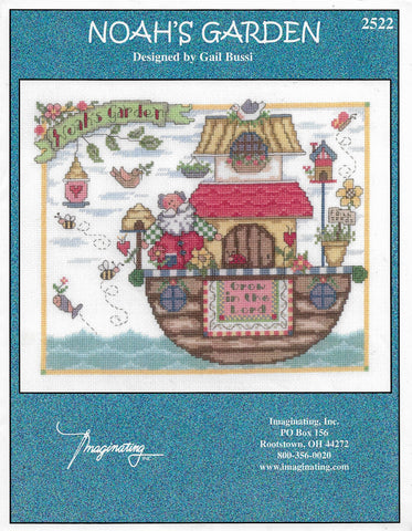 Imaginating Noah's Garden 2522 cross stitch pattern