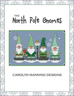 Carolyn Manning North Pole Gnomes cross stitch pattern