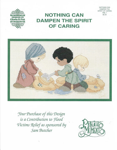 Gloria & Pat Nothing Can Dampen the Spirit of Caring PML-1 cross stitch pattern