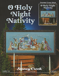 Stoney Creek O Holy Night Nativity LFT114 christmas cross stitch pattern
