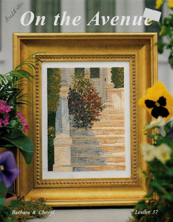 Barbara & Cheryl On The Avenue cross stitch pattern