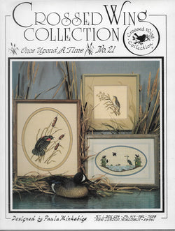 Cross Wing Collection Once Upond A Time No. 21 bird cross stitch pattern