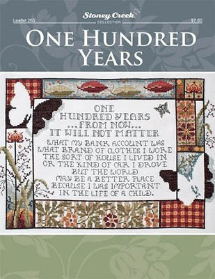 Stoney Creek One Hundred Years LFT263 cross stitch pattern