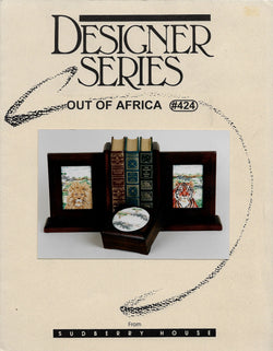 Sudberry House Out of Africa cross stitch pattern