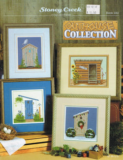 Stoney Creek Outhouse Collection BK333 cross stitch booklet