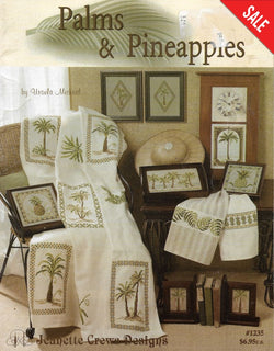 Jeanette Crews Palms & Pineapples cross stitch pattern