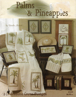 Jeanette Crews Palms & Pineapples 1235 cross stitch pattern