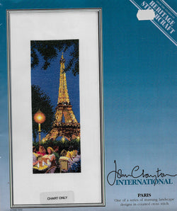 Heritage Stitchcraft Paris John Clayton cross stitch pattern