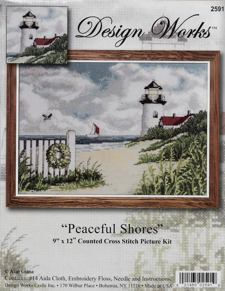 Design Works Peaceful Shores 2591 cross stitch kit