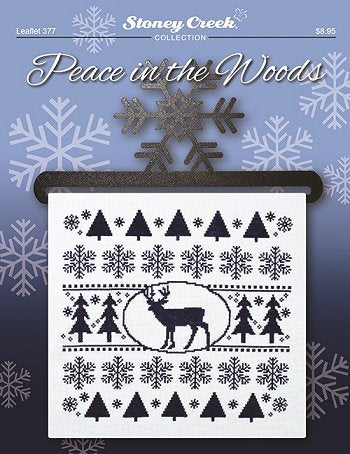 Stoney Creek Peace in the woods LFT377 cross stitch pattern