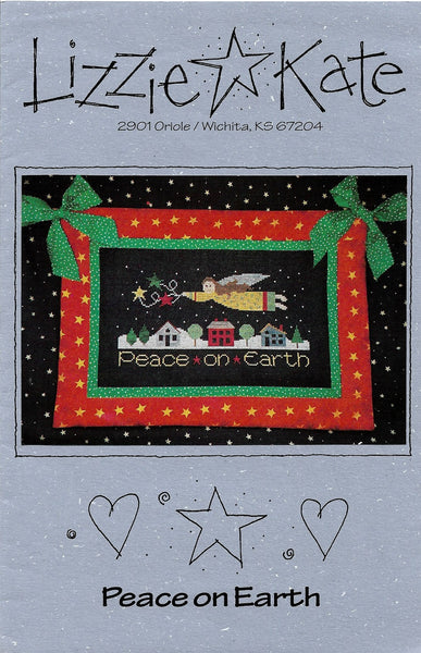 Lizzie Kate Peace on Earth LK046 christmas cross stitch pattern
