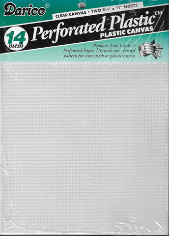 Darice Perforated Plastic 14 mesg canvas for cross stitch