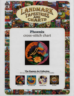 Landmark Phoenix asian cross stitch pattern