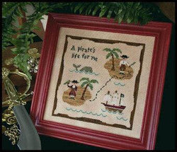 Country Cottage Needleworks Kids A Pirate's Life for Me cross stitch pattern
