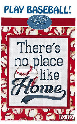 Sue Hillis Play Baseball cross stitch pattern