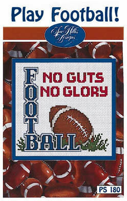 Sue Hillis Play Football cross stitch pattern