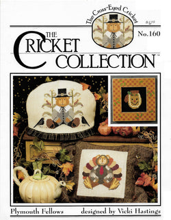Cricket Collection Plymouth Fellows cross stitch pattern