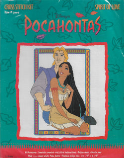 Just CrossStitch Pocahonta Spirit of Love 37004 disney cross stitch kit