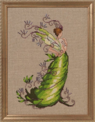 Mirabilia Poison Ivy NC250  poison pixies series cross stitch