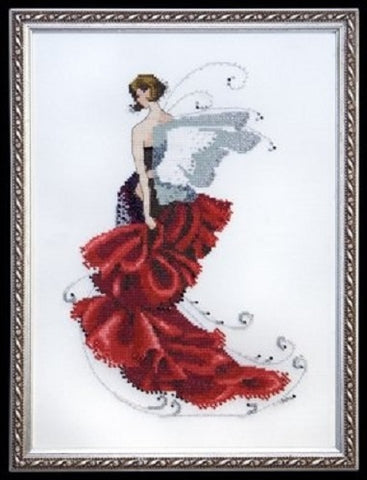 Mirabilia Poppy NC-123 pixie couture victorian cross stitch