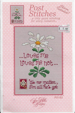 Sue Hillis Loves me Loves me not PS152 cross stitch pattern
