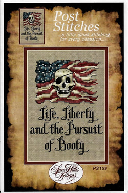 Sue Hillis Liberty Pirate PS159 cross stitch pattern