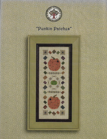 Full Circle Designs Punkin patches cross stitch pattern