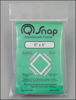 "Q-Snaps 6""x6"" Frame cross stitch accessory"