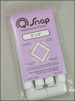 "Q-Snaps 8""x8"" Frame cross stitch accessory"