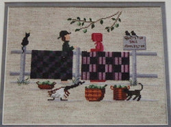 Diane Graebner Quilts For Sale, Apples Too DGX-081 Amish cross stitch pattern
