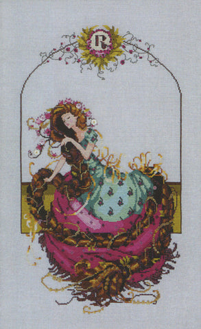 Mirabilia Rapunzel MD-145 victorian cross stitch