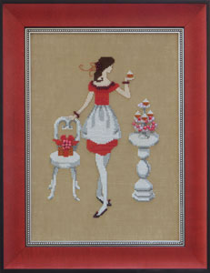 Mirabilia Red Sugar NC170 cross stitch pattern