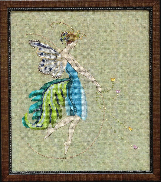 Mirabilia Rhythym NC153 Muse Collection Pixie cross stitch pattern
