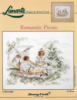 Lanarte Romantic Picnic cross stitch pattern