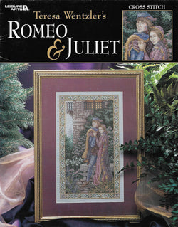 Leisure Arts Romeo & Juliet 3426 OOP cross stitch pattern
