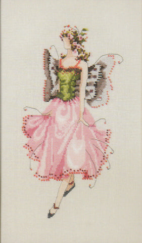 Mirabilia Rose NC111 Pixie Couture victorian cross stitch